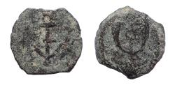Ancient Coins - Judaea, Herodians. Herod I (the Great). 40-4 BC. Æ Prutah