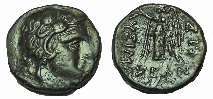 Ancient Coins - Thrace, Lysimacheia.Circa 309-220 BC. Æ 17, Scarce