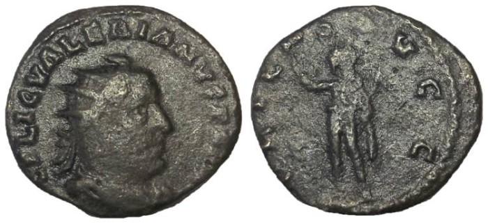 Ancient Coins - Valerian I, 253-260 AD.  AE Antoninianus
