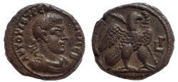 Ancient Coins - Egypt, Alexandria. Trebonianus Gallus. 251-253 AD. BI Tetradrachm.