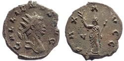 Ancient Coins - Gallienus. AD 253-268. Antoninianus, PAX, EF.