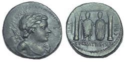 Ancient Coins - C. Egnatius Cn.f. Cn.n. Maxsumus, Denarius, Rome, 75 BC, Rare