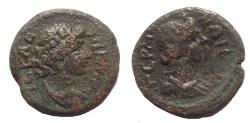 Ancient Coins - Mysia, Germe, civic coinage AE15. Time of the Antonines