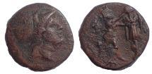 Ancient Coins - Kings of Macedon. Antigonos II Gonatas. 277/6-239 BC. Æ 16
