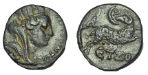 Ancient Coins - Roman Provincial, Syria-Antioch, Autonomous Issue Under Hadrian