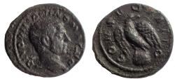 "Ancient Coins - Divo Caracalla. Ae ""Limes"" Denarius. Very Rare."