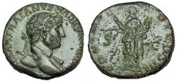 Ancient Coins - Hadrian. AD 117-138. Æ Sestertius