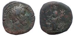 Ancient Coins - Commodus, 177-192 AD. Æ Sestertius