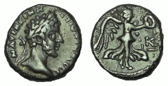Ancient Coins - Egypt. Alexandria. Commodus. 177-192 AD. Billon Tetradrachm