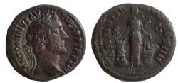 Ancient Coins - Antoninus Pius, 138-161 AD. AE As. Annona