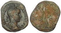 Ancient Coins - Gordian III, 238-244 AD. Æ Sestertius