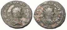 Ancient Coins - AURELIAN AND VABALATHUS, 271-272 AD. AE ANTONINIANUS