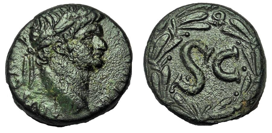 Ancient Coins - Seleucis and Pieria.Antioch. Domitian.AD 81-96. Æ As