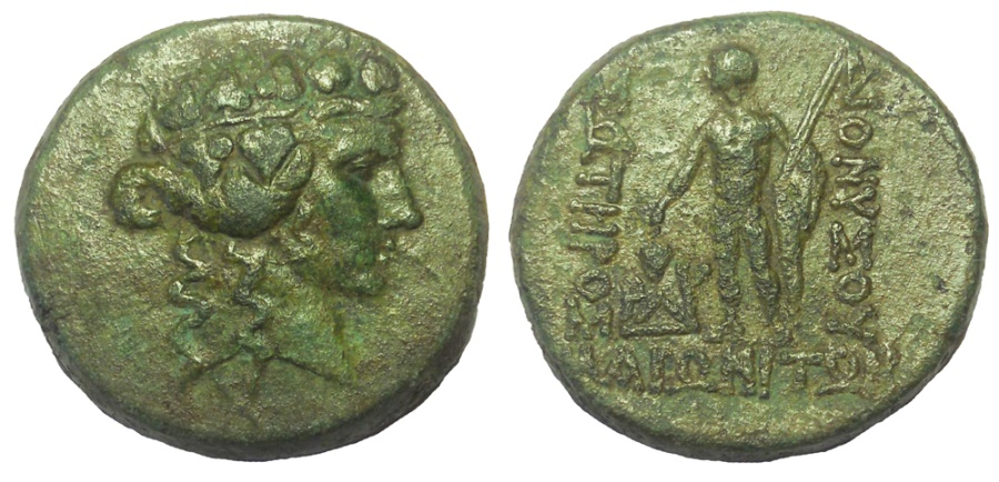 Ancient Coins - Thrace: Maroneia, after 146 BC. Æ 25. Choice VF+