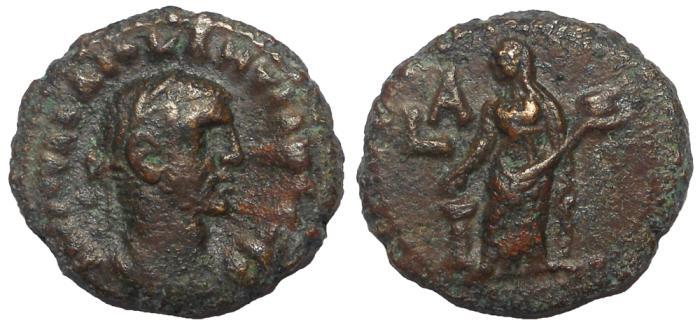 Ancient Coins - Egypt, Alexandria: Diocletian, 284-305 AD. Æ Tetradrachm, Eusebeia Reverse