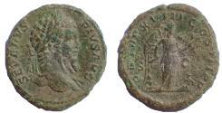 Ancient Coins - Septimius Severus, 193-211. Æ As, Rare