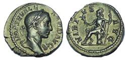 Ancient Coins - Severus Alexander. 222-235 AD. AR Denarius, VIRTVS, Choice EF