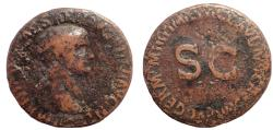 Ancient Coins - Germanicus. Died AD 19. Æ As