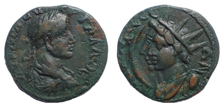 Ancient Coins - Pisidia, Sagalassus Trebonianus Gallus, AD 251-253, Very Rare.