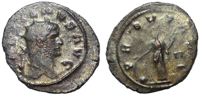 Ancient Coins - Gallienus, 253-268 A.D.  AE Antoninianus