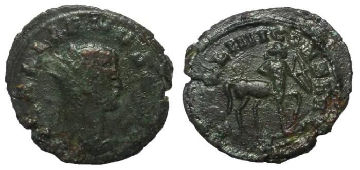 Ancient Coins - Gallienus, 253-268 A.D.  AE Antoninianus.  Centaur Reverse