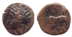 Ancient Coins - Carthage. Circa 400-350 BC. Æ 16