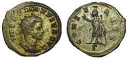 Ancient Coins - Claudius II 268-270 Antoninianus, Antioch, late AD 269 - spring 270, Rare
