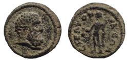 Ancient Coins - Caria. Stratonicea. Pseudo-autonomous (3rd century AD). Ae 15, Very Rare