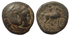 Ancient Coins - Kings of Macedon. Kassander. 305-298 BC. Æ Unit