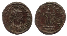 Ancient Coins - Carinus. AD 283-285. Antoninianus