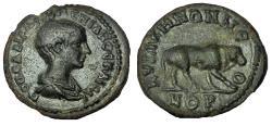 Ancient Coins - Mysia, Cyzicus. Diadumenian. As Caesar, AD 217-218. Æ 23 Very Rare
