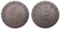 World Coins - Hanover. George III. 1760-1820. CU Twopence Second issue, 'Cartwheel' type. Soho mint. Dated 1797