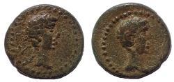 Ancient Coins - Mysia. Kyzikos. Augustus 27 BC-AD 14. Caius & Lucius, Æ 15. Very Rare.