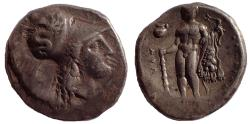 Ancient Coins - Lucania, Herakleia, c. 340-300 BC AR Stater