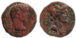 Ancient Coins - Uncertain Caesarea. Claudius. AD 41-54. Æ 20