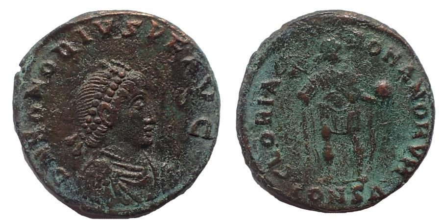 Ancient Coins - Honorius. AD 393-423. Æ 20