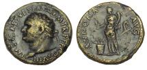 Ancient Coins - Titus. 79-81 AD. Æ Sestertius
