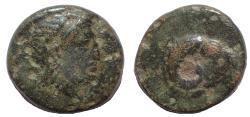 Ancient Coins - Troas, Kebren. Circa 387-310 BC. Æ 10