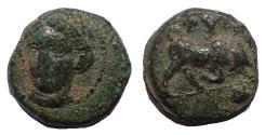 Ancient Coins - Ionia, Phygela, circa 350-300 BC. Æ 9 mm