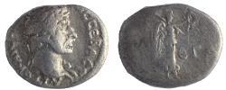 Ancient Coins - Cappadocia, Caesarea-Eusebia: Hadrian, 117-138 AD. AR hemidrachm