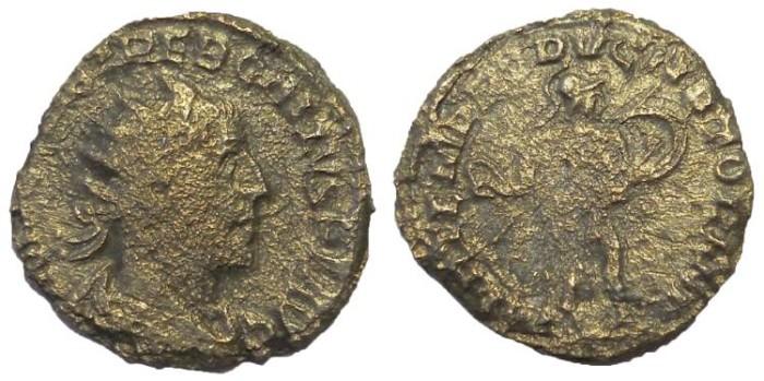 Ancient Coins - Trebonianus Gallus, 251-253 AD.  AE Antoninianus