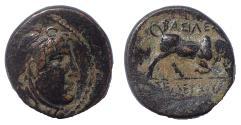 Ancient Coins - Seleukid Kings of Syria. Seleukos I Nikator. 312-281 BC. Æ 20