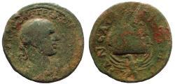 Ancient Coins - Judaea, Neapolis. Trebonianus Gallus. AD 218-222. Æ 26