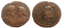 Ancient Coins - Caria. Knidos. Caracalla (211-217). Ae 32. Very Rare.
