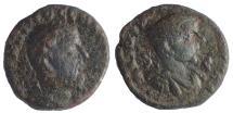 Ancient Coins - Seleucis and Pieria. Antioch. Macrinus, with Diadumenian as Caesar. AD 217-218. Æ As