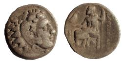 Ancient Coins - Kings of Macedon. Alexander III. 336-323 BC. AR Drachm