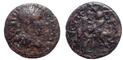 Ancient Coins - Pamphylia. Aspendos . Trebonianus Gallus AD 251-253. Æ 23. Very Rare.