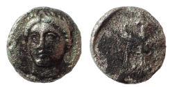 Ancient Coins - Sinope, Paphlagonia. c. 330-300 BC. AR Trihemiobol. Rare.