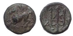 Ancient Coins - Corinthia, Corinth. Autonomous Issues. Circa 335-306 BC. Æ 13