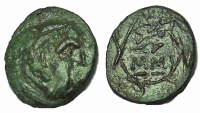 Ancient Coins - Kings of Thrace. Lysimachos. 305-281 BC. Æ 13